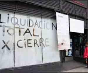 En 4 años cerraron casi 20.000 empresas en la Argentina